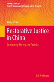 Restorative Justice in China PDF