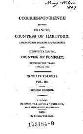 Correspondence, Between the Years 1738 and 1741. 2. Ed: Volume 3