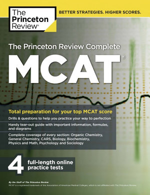 The Princeton Review MCAT Complete