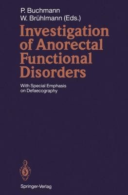 Investigation of Anorectal Functional Disorders