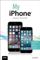 My iPhone  Covers iOS 8 on iPhone 6 6 Plus  5S 5C 5  and 4S  PDF