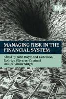 Managing Risk in the Financial System PDF