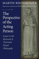 The Perspective of the Acting Person PDF