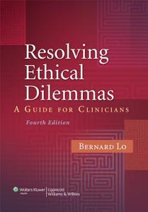 Resolving Ethical Dilemmas PDF