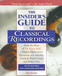 The Insider s Guide to Classical Recordings PDF