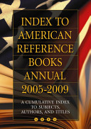 Index to American Reference Books Annual 2005 2009 PDF