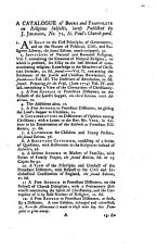 A Catalogue of Books and Pamphlets on Religious Subjects  Lately Published by J  Johnson  No  72  St  Paul s Church yard PDF