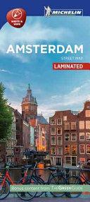 Amsterdam - Citymap Laminated