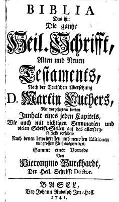 Biblia das ist  die gantze Heil  Schrifft  Alten und Neuen Testaments PDF