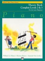 Alfred s Basic Piano Course  Theory Book Complete 2   3 PDF