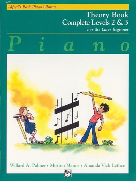 Alfred s Basic Piano Course  Theory Book Complete 2   3