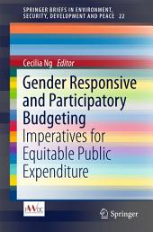 Gender Responsive and Participatory Budgeting: Imperatives for Equitable Public Expenditure