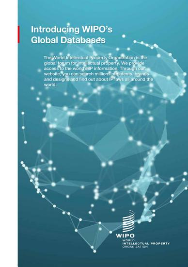 Introducing WIPO   s Global Databases PDF