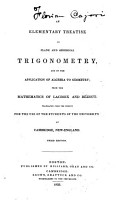 An Elementary Treatise on the Application of Trigonomentry to Orthographic and Stereographic Projection  Dialling  Mensuration of Heights and Distances  Navigation  Nautical Astronomy  Surveying and Levelling PDF
