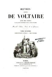 Oeuvres complètes de Voltaire: avec des notes et une notice historique sur la vie de Voltaire