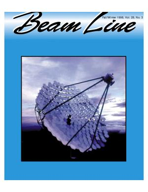 Beam Line  Fall Winter 1998  Vol  28  No  3 PDF