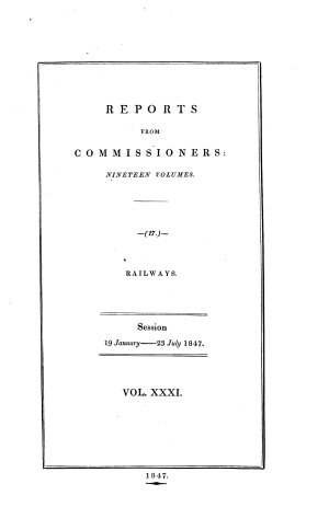 Reports from the Commissioners