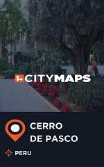 City Maps Cerro de Pasco Peru