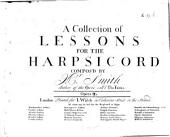 A collection of lessons for the harpsicord