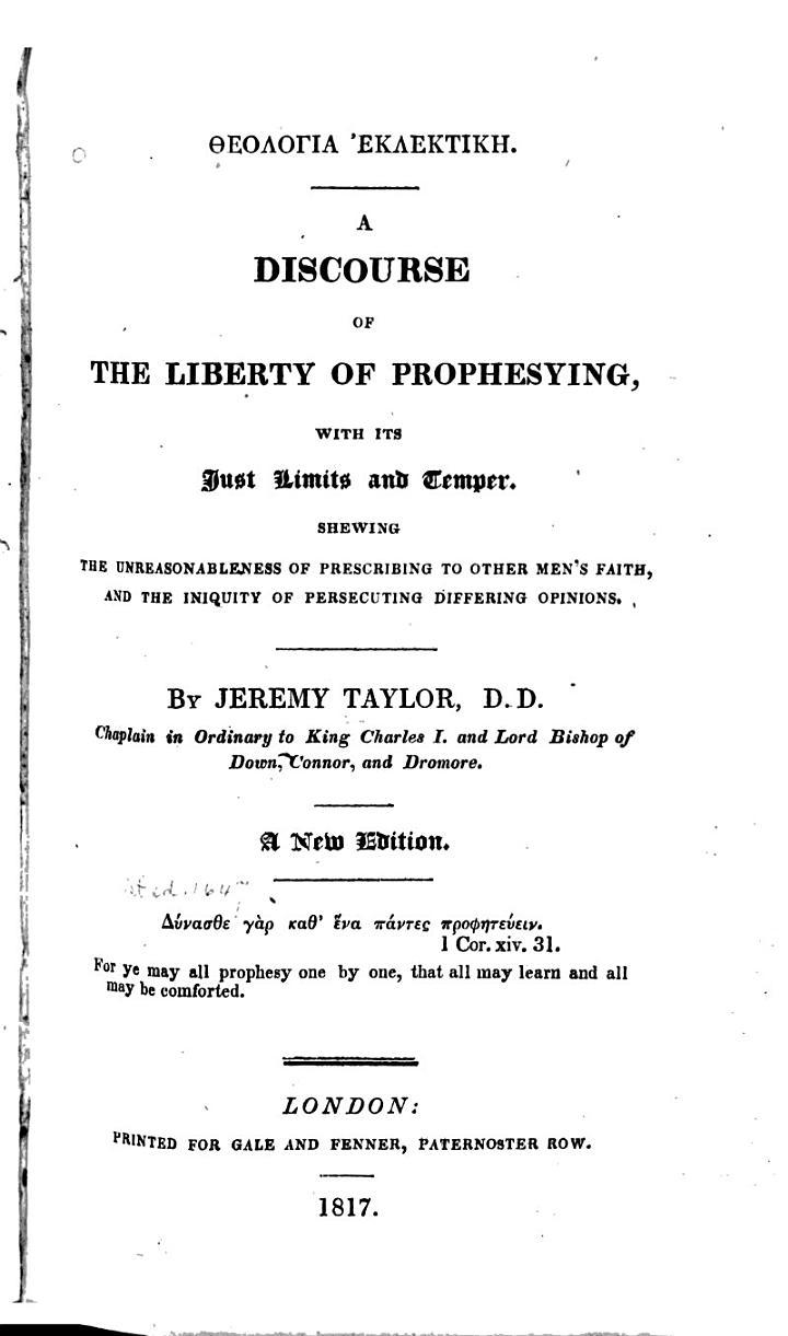 Theologia Eklektikē