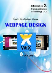 WEBPAGE DESIGN (WIX)