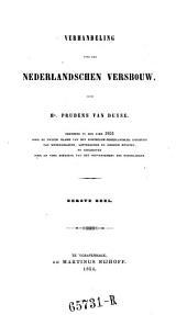 Verhandeling over den Nederlandschen Versbouw: Volume 1