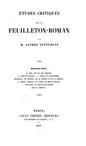 Feuilleton - Roman
