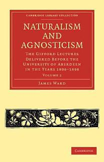 Naturalism and Agnosticism Book