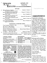 Trusts and Estates PDF