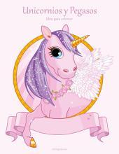 Unicornios y Pegasos libro para colorear 1