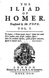 The Iliad of Homer: Several Versions