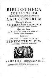 Bibliotheca scriptorum Ordinis minorum S. Francisci Capuccinorum