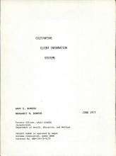 Cultivating Client Information Systems PDF