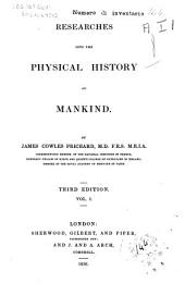 Researches Into the Physical History of Mankind: 1
