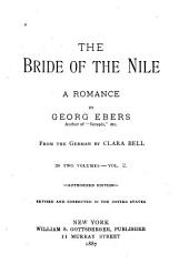 The Bride of the Nile: A Romance, Volume 2