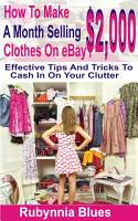 How to Make  2 000 Selling A Month Clothes on eBay PDF