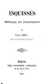 Esquisses morales et politiques