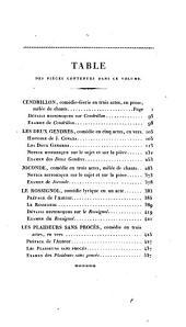 Bibliothèque dramatique; ou, Répertoire universel du théatre français: Volume2