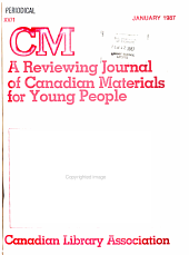 Reviewing Journal of Canadian Materials for Young People PDF