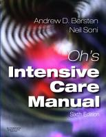 Oh s Intensive Care Manual PDF