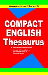 Compact English Thesaurus