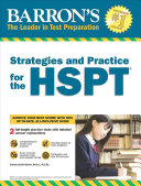 Barron s Strategies and Practice for the HSPT Book