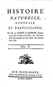 Histoire Naturelle, Générale Et Particulière: Volume1