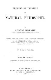 Elementary Treatise on Natural Philosophy: Part 2
