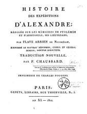 Histoire des expéditions d'Alexandre