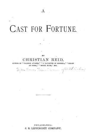 A Cast for Fortune