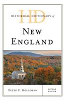 Historical Dictionary of New England PDF