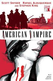 American Vampire (2010-) #1