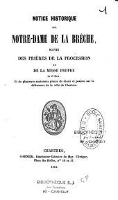 Notice historique sur Notre-Dame de la Brèche