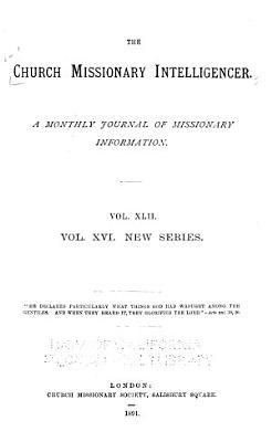 The Church Missionary Intelligencer PDF